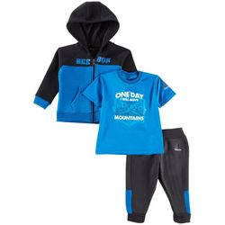 Reebok Baby Boys 3-pc. Move Mountains Pants Set