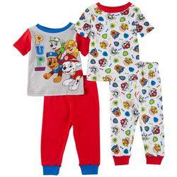Nickelodeon Paw Patrol Baby Boys 4-pc. Pajama Pants Set
