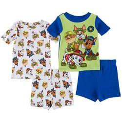 Nickelodeon Paw Patrol Baby Boys 4-pc. Pajama Shorts Set