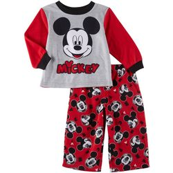Disney Mickey Mouse Baby Boys 2-pc. Fleece Sleepwear
