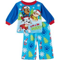 Nickelodeon Paw Patrol Baby Boys Fleece Snow Way Pajama Set
