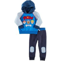Nickelodeon Paw Patrol Baby Boys Stripe Hoodie Pants Set