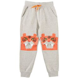 Seven Oaks Little Boys Tiger Bite Jogger Pants