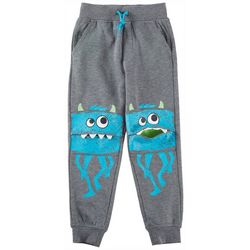 Seven Oaks Little Boys Walking Monster Bite Jogger Pants