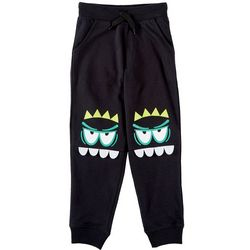 Seven Oaks Little Boys Cranky Monster Jogger Pants