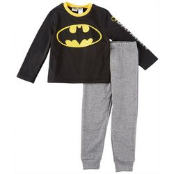 DC Comics Batman Little Boys Bat Signal Jogger Pants Set