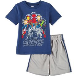 Marvel Avengers Little Boys Infinity War Shorts Set