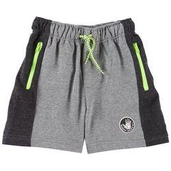 Body Glove Little Boys Colorblock Terry Zipper Shorts