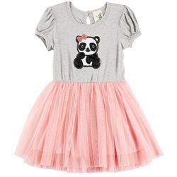 Lily Bleu Toddler Girls Sequined Panda Tutu Dress