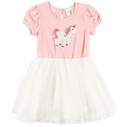 Lily Bleu Toddler Girls Sequined Unicorn Tutu Dress