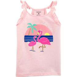 Carters Toddler Girls Aloha Cutie Flutter Tank Top