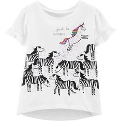 Carters Toddler Girls Just Be Unique Unicorn T-Shirt