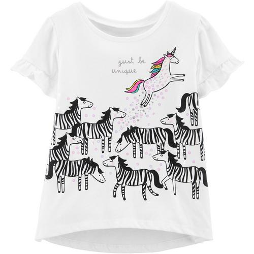 a61ef0ea6 Carters Toddler Girls Just Be Unique Unicorn T-Shirt | Bealls Florida