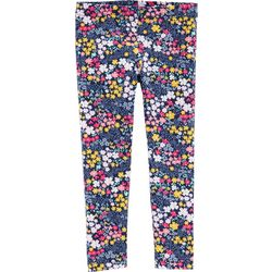 Carters Toddler Girls Flower Print Pull-On Leggings