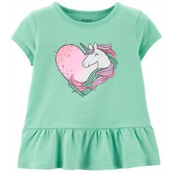 Carters Toddler Girls Magical Unicorn Love T-Shirt