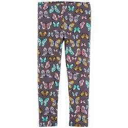 Carters Toddler Girls Mixed Butterfly Print Pull-On Leggings