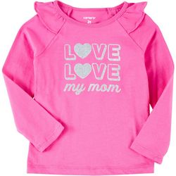 Carters Toddler Girls Love My Mom T-Shirt
