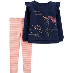 Carters Toddler Girls 2-pc. Magical Besties Leggings Set