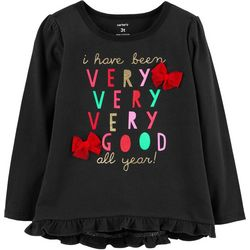 Carters Toddler Girls I Have Been Very Good All Year T-Shirt