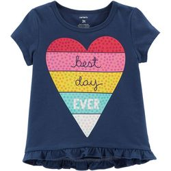 Carters Toddler Girls Best Day Ever T-Shirt