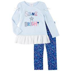Forever Me Toddler Girls 2-pc. Shine Bright Leggings Set