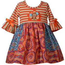 Bonnie Jean Toddler Girls Thanksgiving Dress