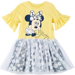 Disney Toddler Girls Minnie Mouse Floral Tutu Dress