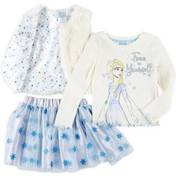 Disney Toddler Girls 3-pc. Frozen True To Yourself Skirt Set