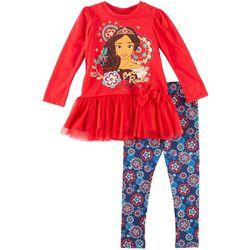 Disney Elena of Avalor Toddler Girls Born To Rule Pants Set