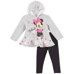 Disney Minnie Mouse Toddler Girls Dot Hoodie Leggings Set