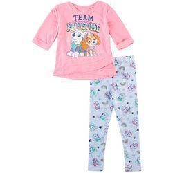 Nickelodeon Paw Patrol Toddler Girls Team Pawsome Pants Set