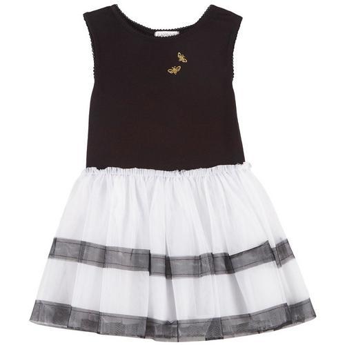 Flapdoodles Toddler Girls Bumble Bee Stripe Dress Bealls Florida