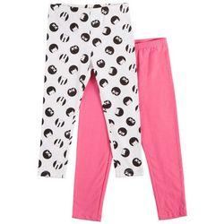 Flapdoodles Toddler Girls 2-pk. Peekaboo Animal Leggings