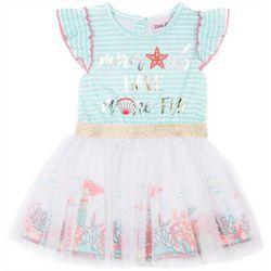 Little Lass Toddler Girls Mermaids Have More Fun Dress