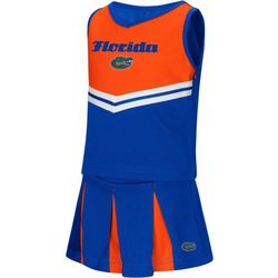 Florida Gators Toddler Girls Peplum Cheer Dress