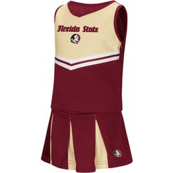 Florida State Toddler Girls Peplum Cheer Dress