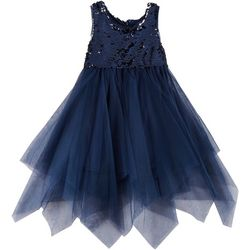 RMLA Toddler Girls Sequin Mesh Sleeveless Dress