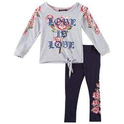 RMLA Toddler Girls Love Is Love Pants Set