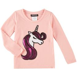 RMLA Toddler Girls Sequined Unicorn T-Shirt