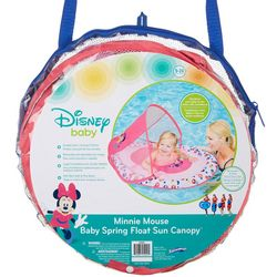 Disney Baby Minnie Mouse Baby Spring Float Sun Canopy