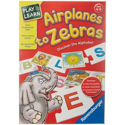 Ravensburger Play & Learn Airplanes to Zebras Game