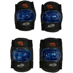 Nerf Multi-Sport Elbow & Knee Pad Safety Set