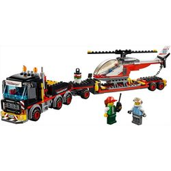 Lego City Heavy Cargo Transport Building Set