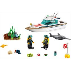 Lego City Diving Yacht Building Set