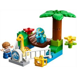 Lego Duplo 24-pc. Jurassic World Gentle Giant Petting Zoo