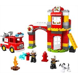 Lego Duplo 76-pc. Fire Station Set