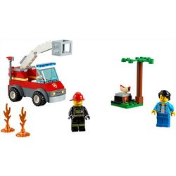 Lego City Barbecue Burn Out Building Set