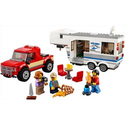 Lego City Pickup & Caravan Building Set