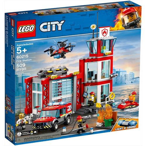 NEW-MINOR-FLAW LEGO CITY FIREFIGHTERS RESCUE KID KIDS SIZE 4 SHIRT