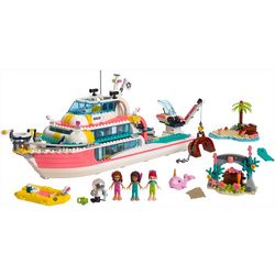Lego Friends Rescue Mission Boat Set